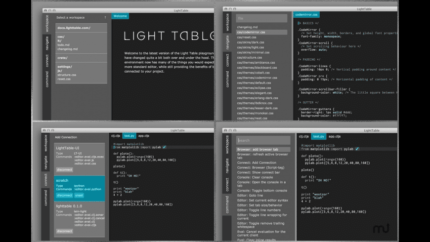 Light Table for Mac - review, screenshots