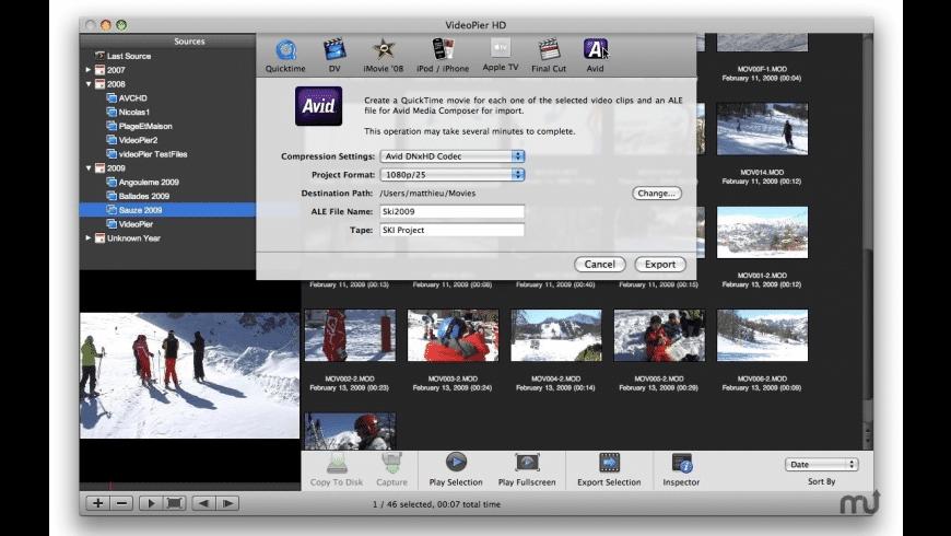 VideoPier HD for Mac - review, screenshots