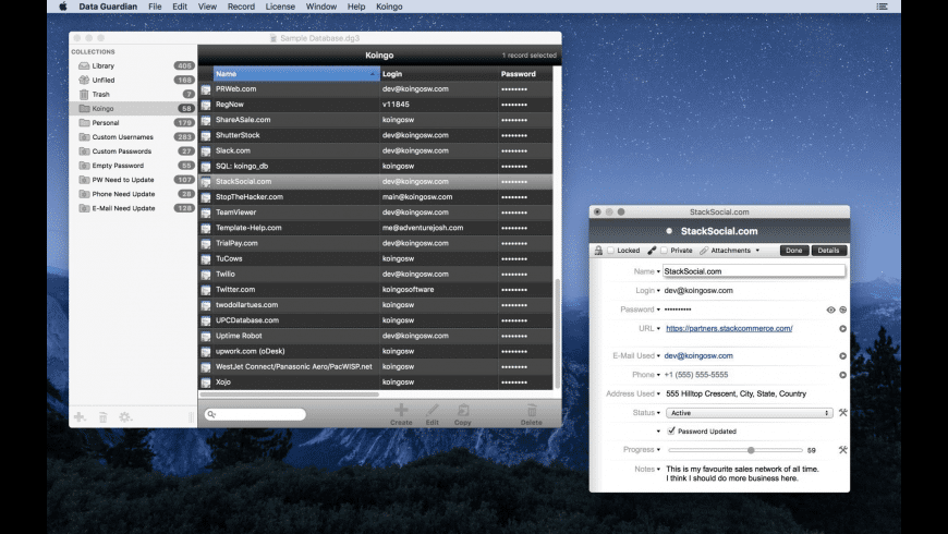 Data Guardian for Mac - review, screenshots