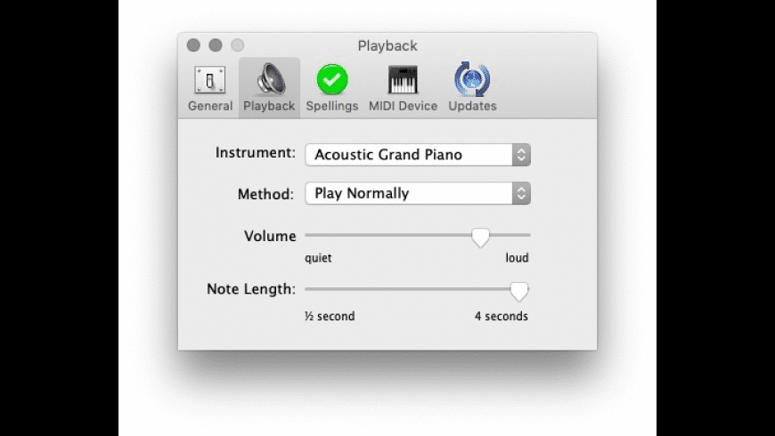 SimpleChord for Mac - review, screenshots
