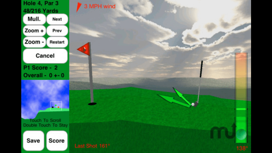 Rocket Golf Lite for Mac - review, screenshots