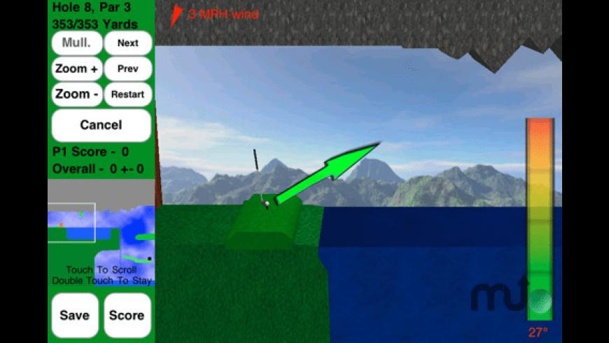 Rocket Golf Lite for Mac - review, screenshots