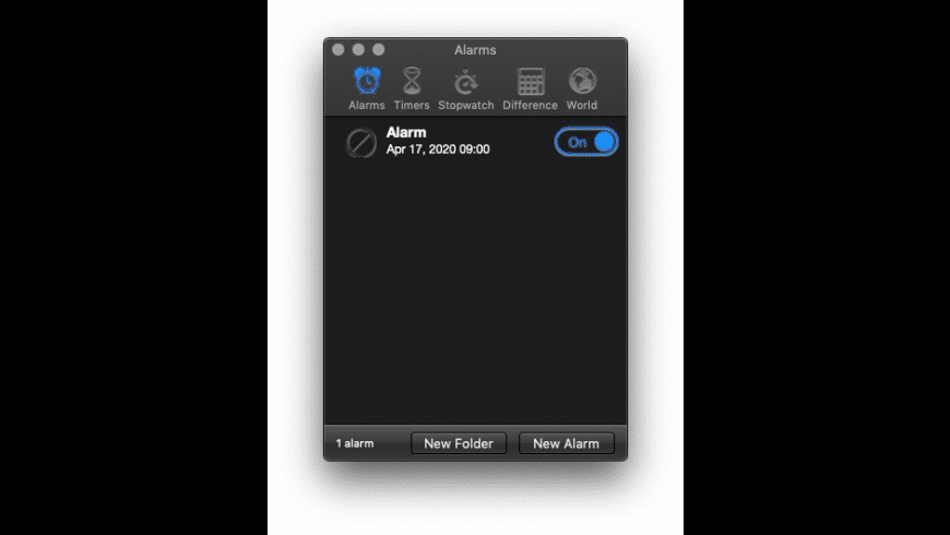 Alarm Clock Pro for Mac - review, screenshots