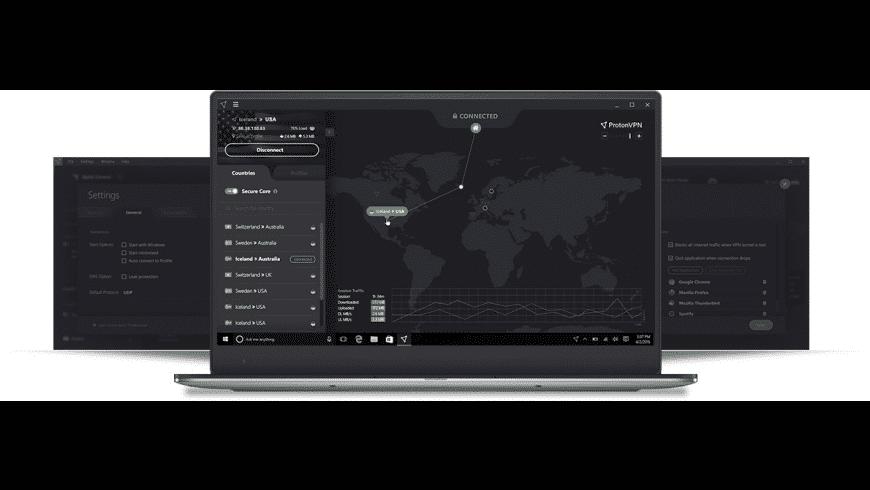 ProtonVPN for Mac - review, screenshots