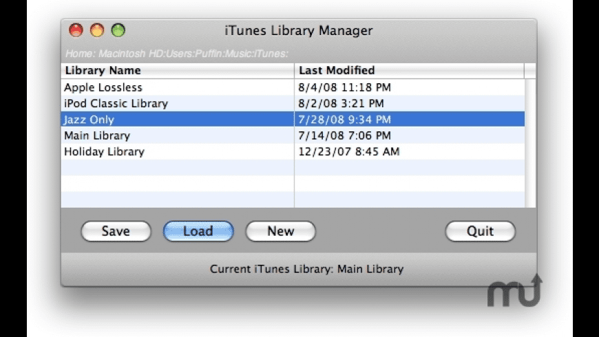 iTunes Library Manager for Mac - review, screenshots