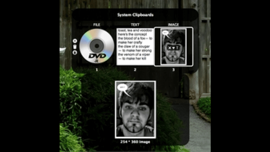 shadowClipboard for Mac - review, screenshots