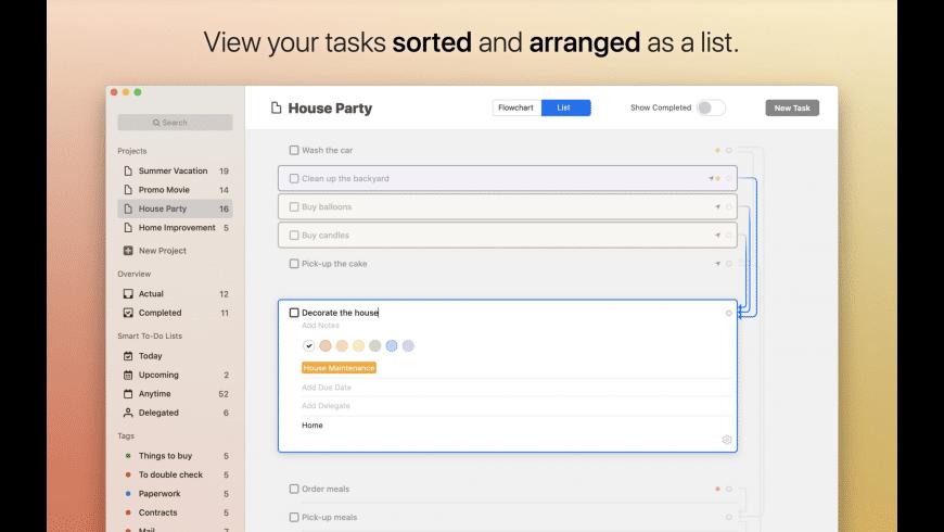 Taskheat for Mac - review, screenshots