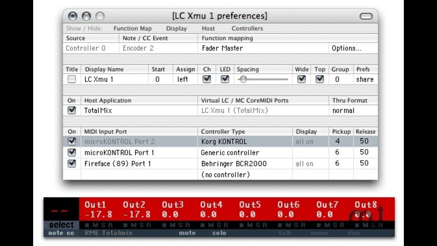 LC Xmu for Mac - review, screenshots