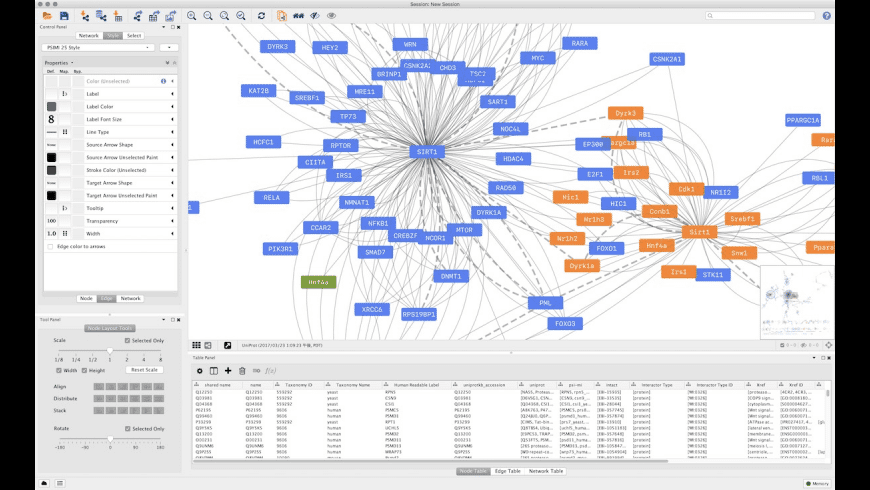 Cytoscape for Mac - review, screenshots