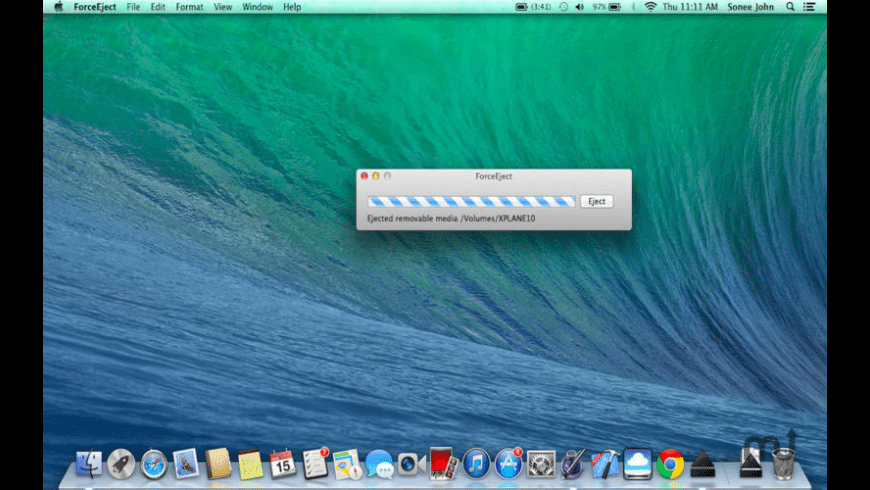 ForceEject for Mac - review, screenshots