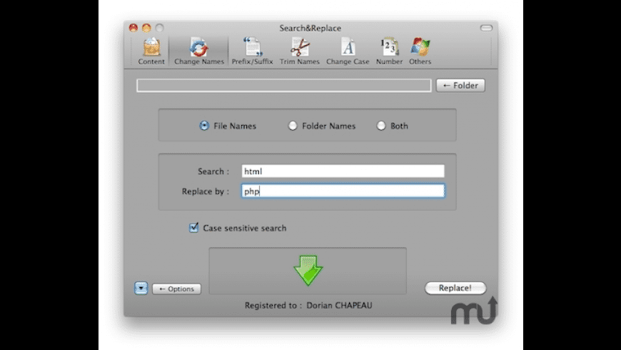 Search&Replace for Mac - review, screenshots