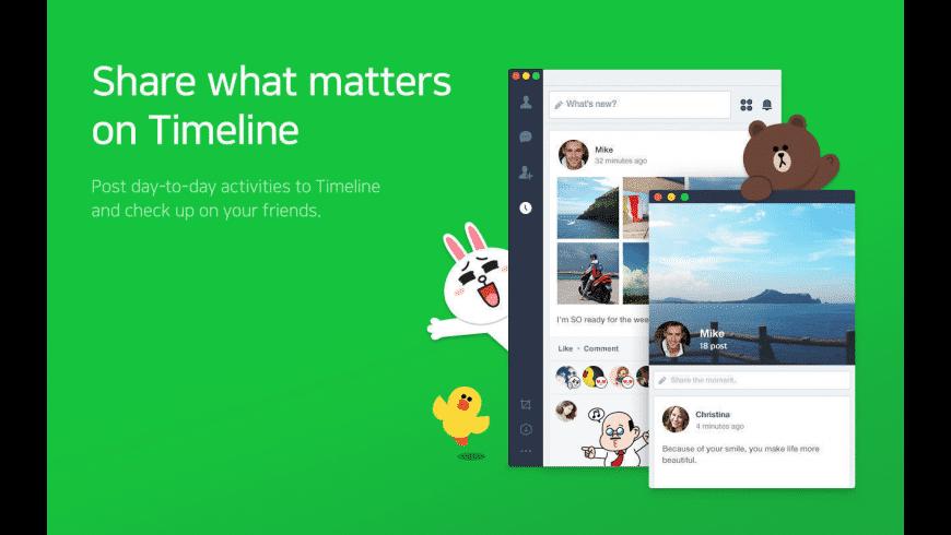 LINE for Mac - review, screenshots