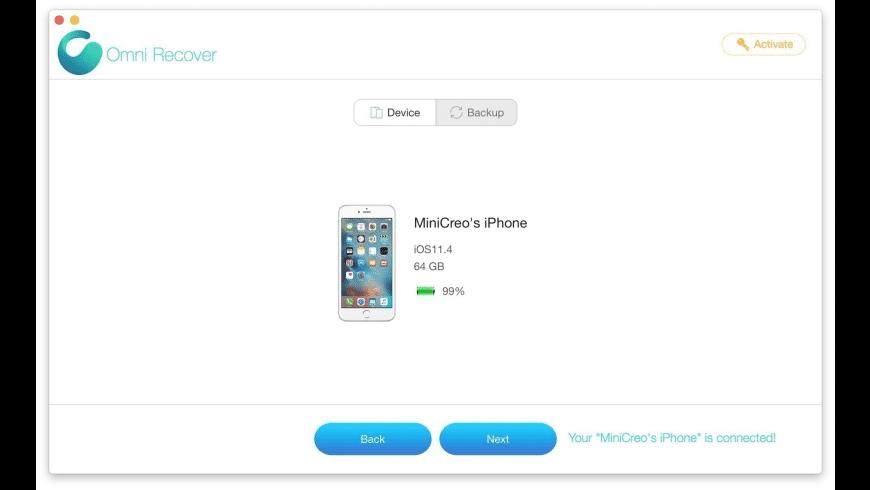 Omni Recover for Mac - review, screenshots