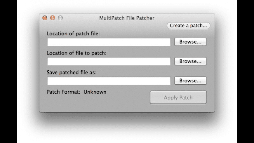 MultiPatch for Mac - review, screenshots
