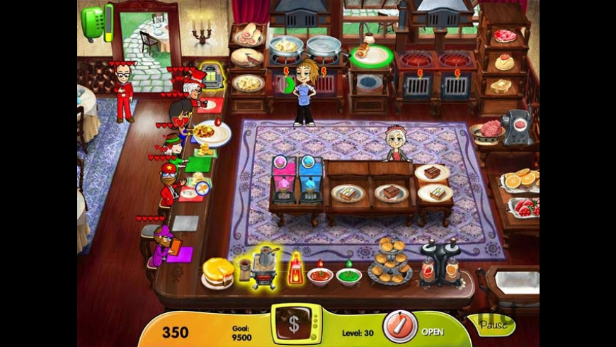Cooking Dash - DinerTown Studios for Mac - review, screenshots