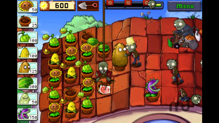 Plants vs. Zombies for Mac - review, screenshots