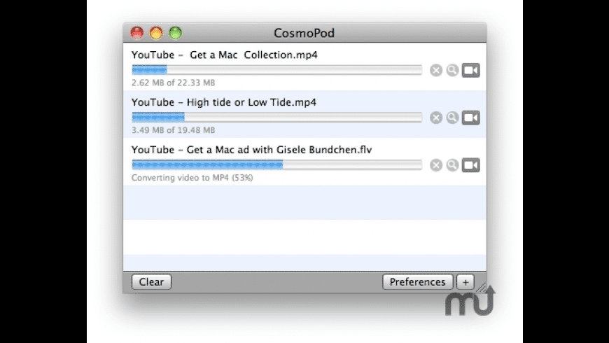 CosmoPod for Mac - review, screenshots