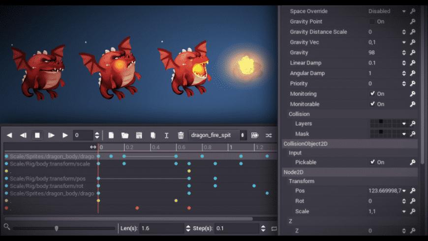 Godot for Mac - review, screenshots