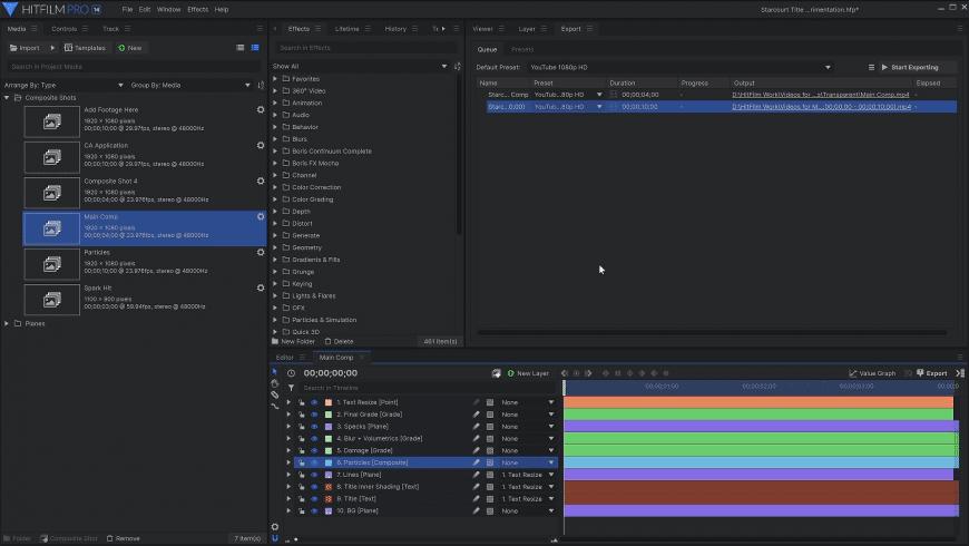 HitFilm Pro for Mac - review, screenshots