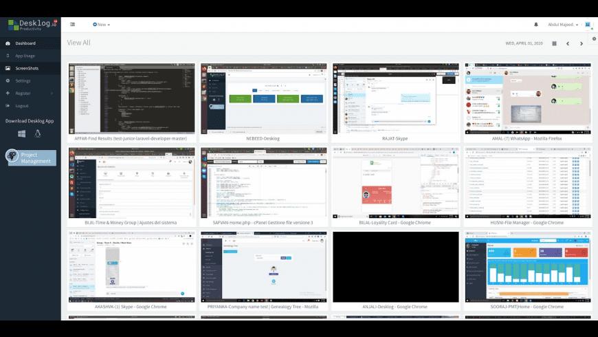 Desklog for Mac - review, screenshots