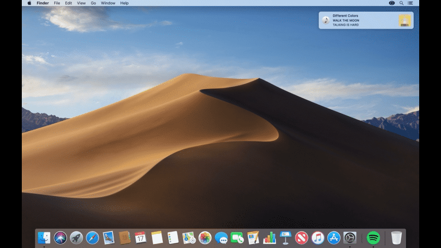 Tunes Notifier for Mac - review, screenshots