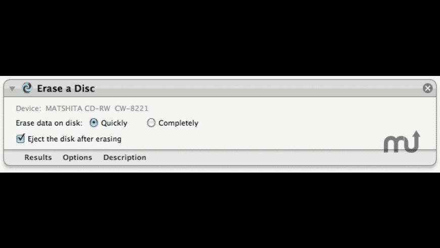 Disc Eraser for Mac - review, screenshots
