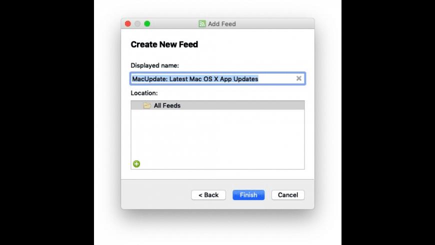 QuiteRSS for Mac - review, screenshots