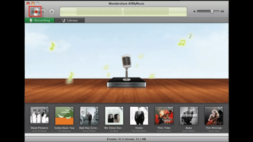 Wondershare AllMyMusic for Mac - review, screenshots