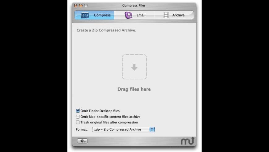 Compress Files for Mac - review, screenshots