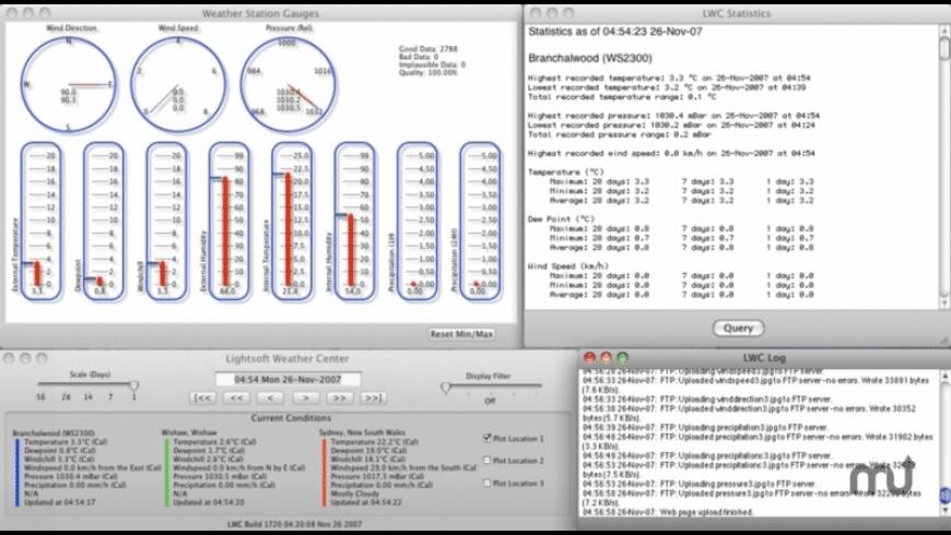 Lightsoft Weather Center for Mac - review, screenshots