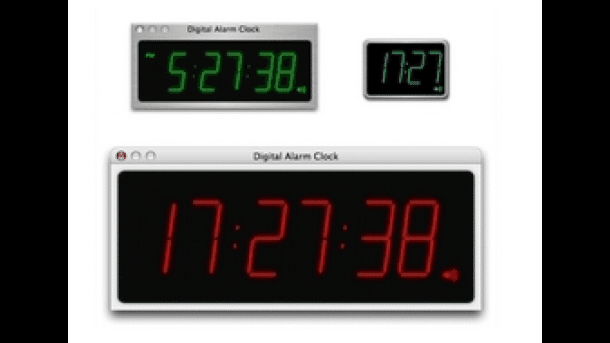 Digital Alarm Clock for Mac - review, screenshots