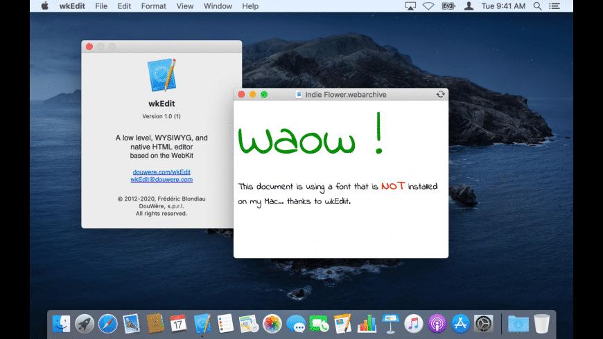 wkEdit for Mac - review, screenshots