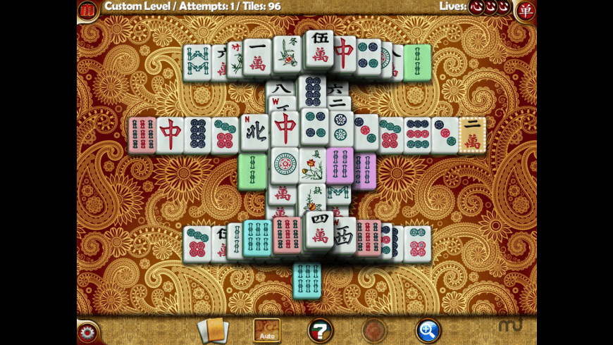 Random Factor Mahjong for Mac - review, screenshots