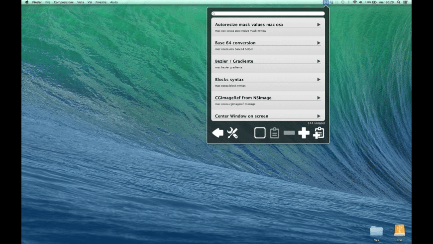 SnipCode for Mac - review, screenshots