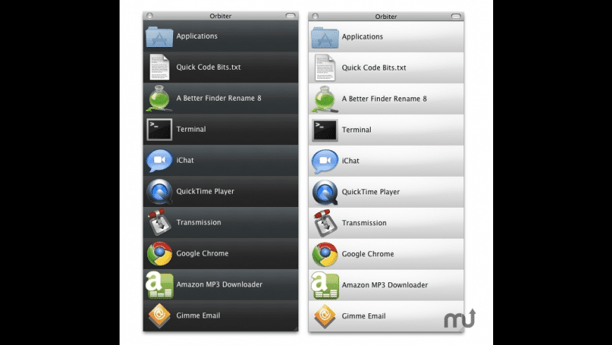 Orbiter for Mac - review, screenshots