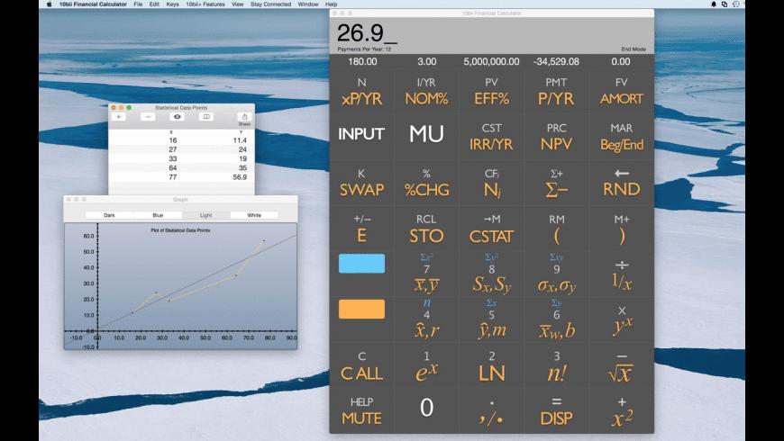 10bii Financial Calculator for Mac - review, screenshots