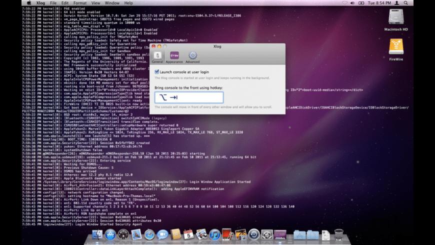 Xlog for Mac - review, screenshots