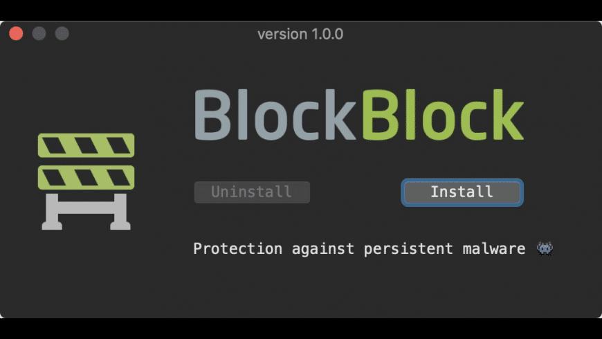 BlockBlock for Mac - review, screenshots