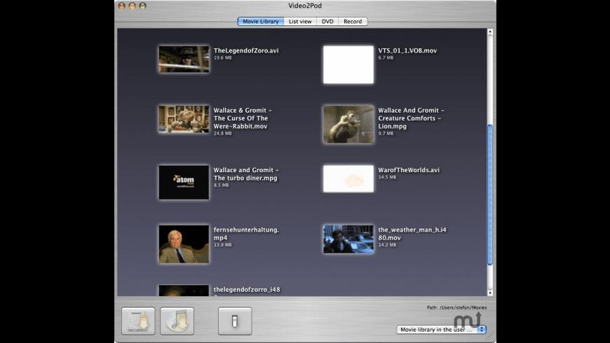 Video2Go for Mac - review, screenshots