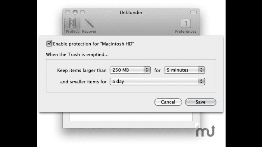 Unblunder for Mac - review, screenshots