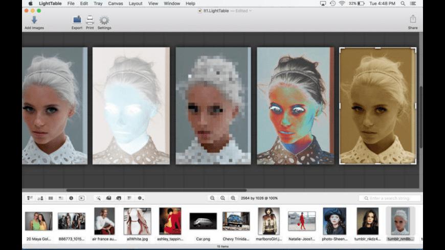 LightTable for Mac - review, screenshots