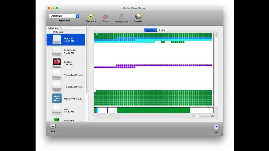 StellarDriveDefrag for Mac - review, screenshots