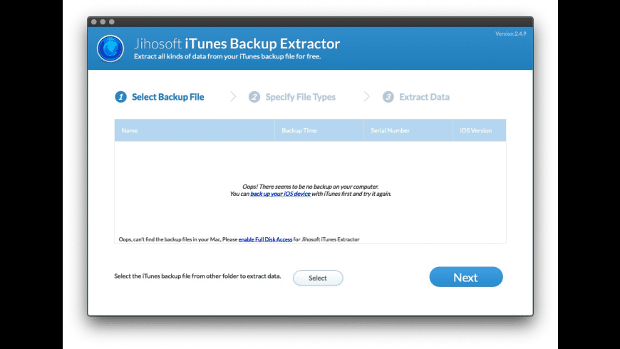 Jihosoft iTunes Extractor for Mac - review, screenshots
