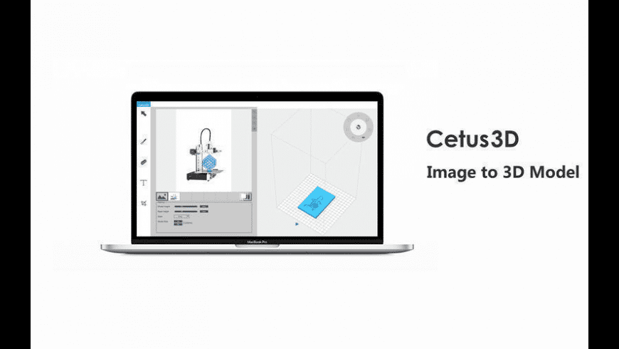Cetus3D for Mac - review, screenshots