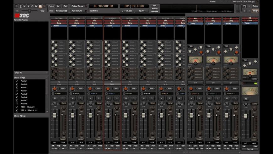 Mixbus 32C for Mac - review, screenshots