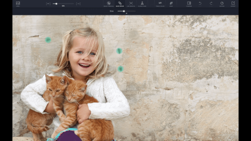 TouchRetouch for Mac - review, screenshots