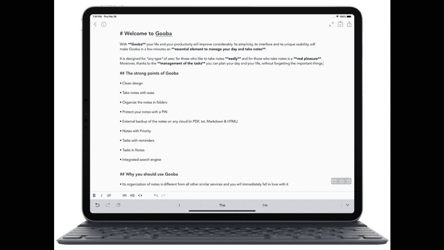 Gooba for Mac - review, screenshots