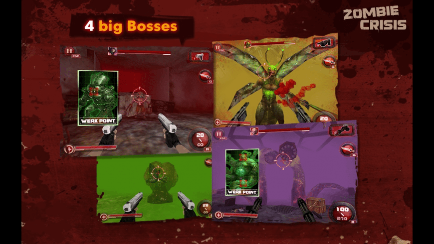 Zombie Crisis 3D for Mac - review, screenshots