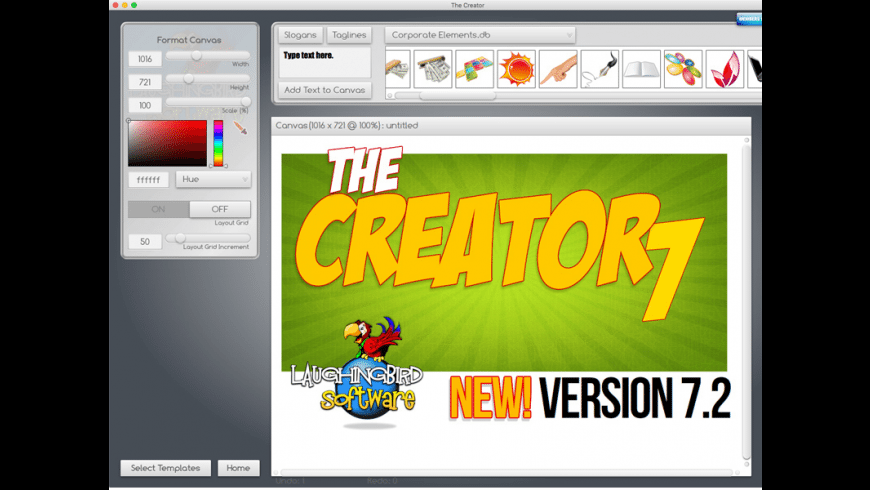 The Creator for Mac - review, screenshots