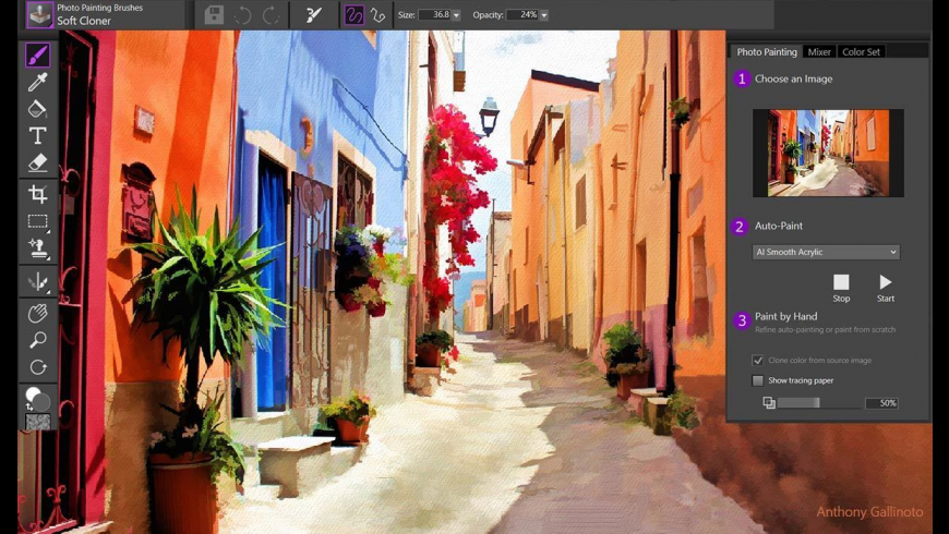 Corel Painter Essentials for Mac - review, screenshots